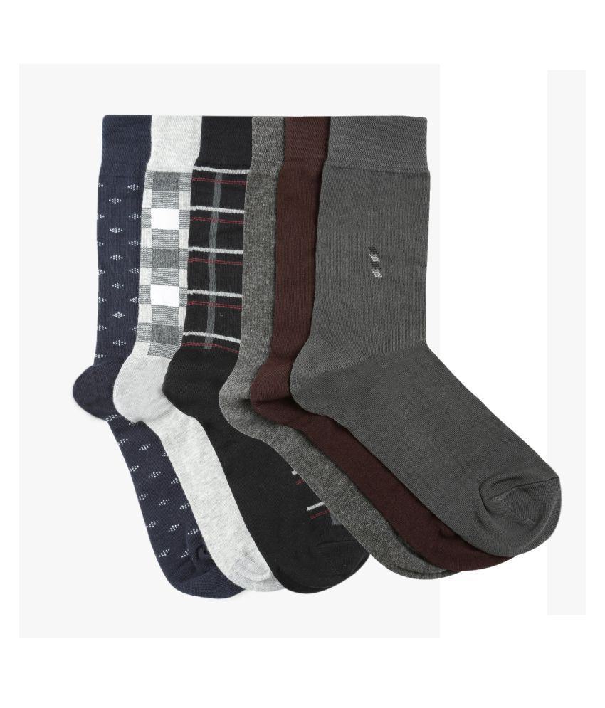 Dollar Socks Multi Casual Full Length Socks
