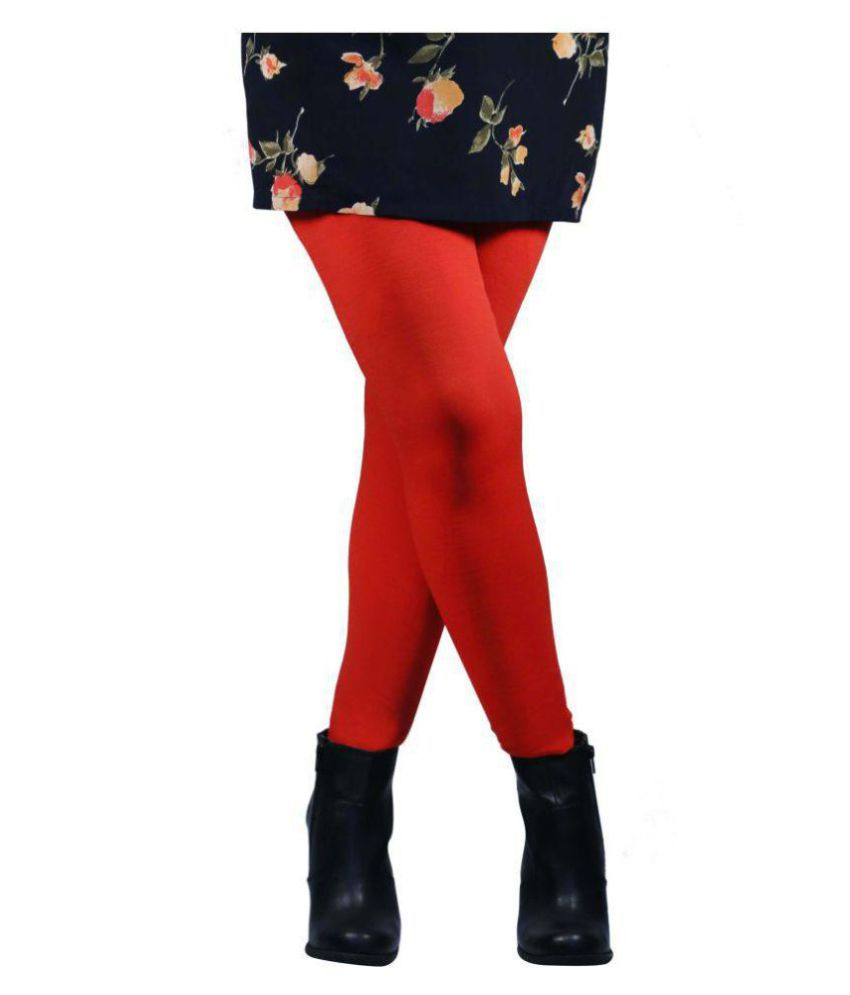 Nxt 2 Skin - Warm Tights Fleece Leggings for Winter and Inner Wear