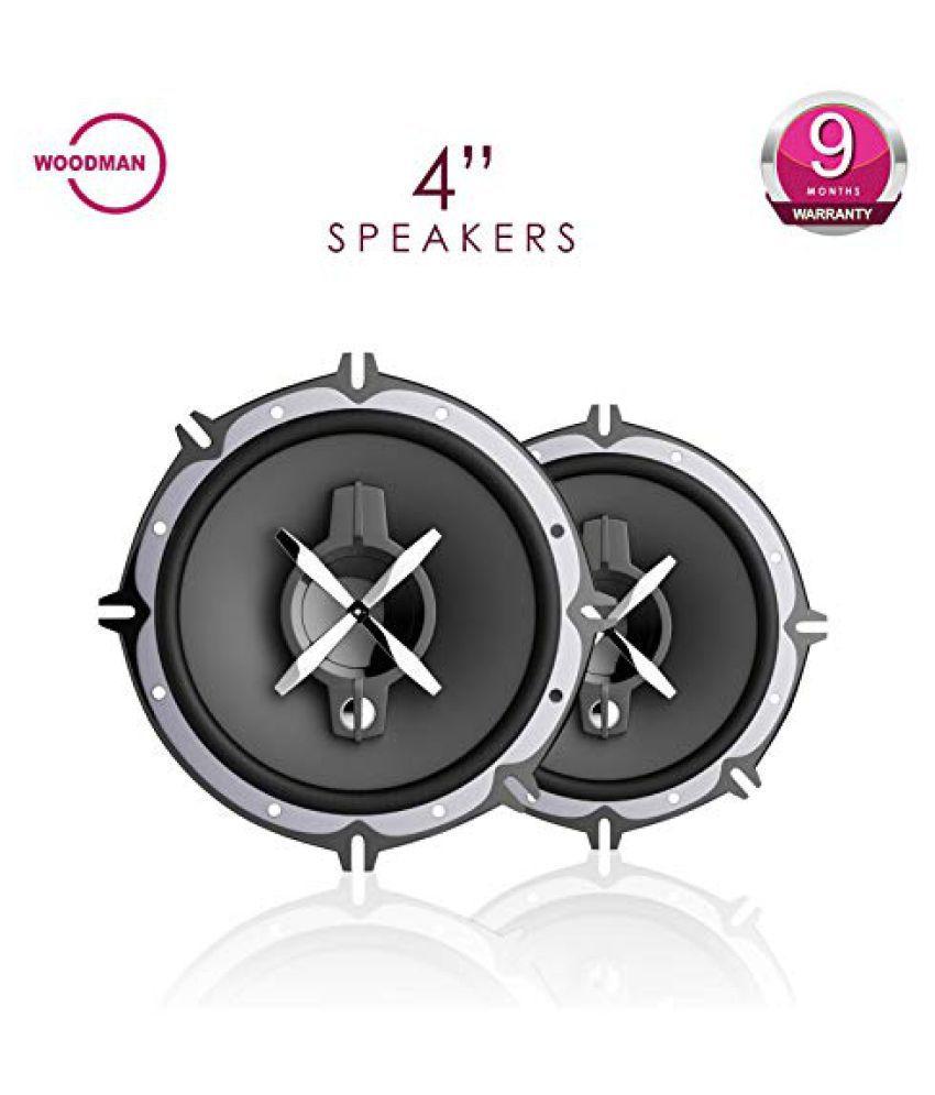Woodman 1052 4 Coaxial Car Speakers Buy Speaker Installation