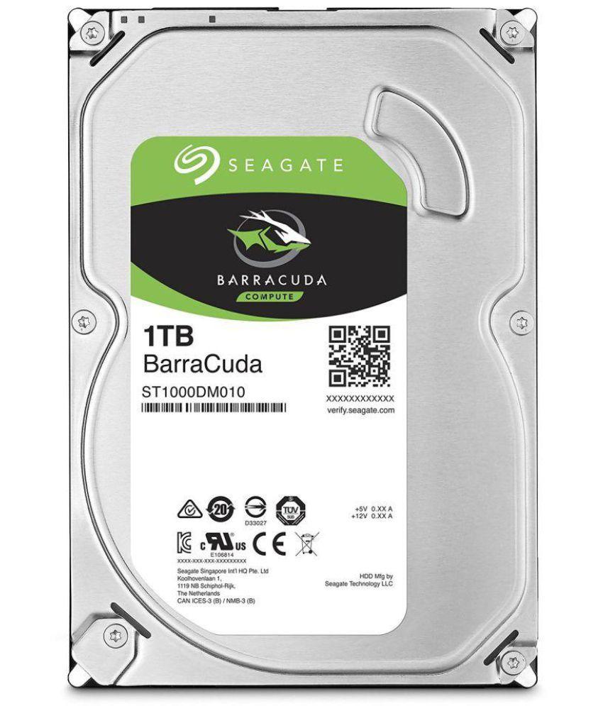 Seagate ST1000DM010 1 TB Internal Hard Drive Internal Hard drive