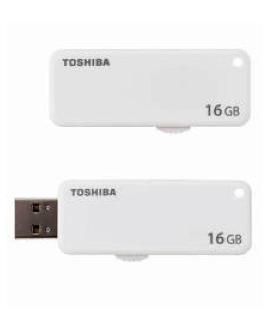 Toshiba U203 16 GB USB 2.0 Utility Pendrive Pack of 2