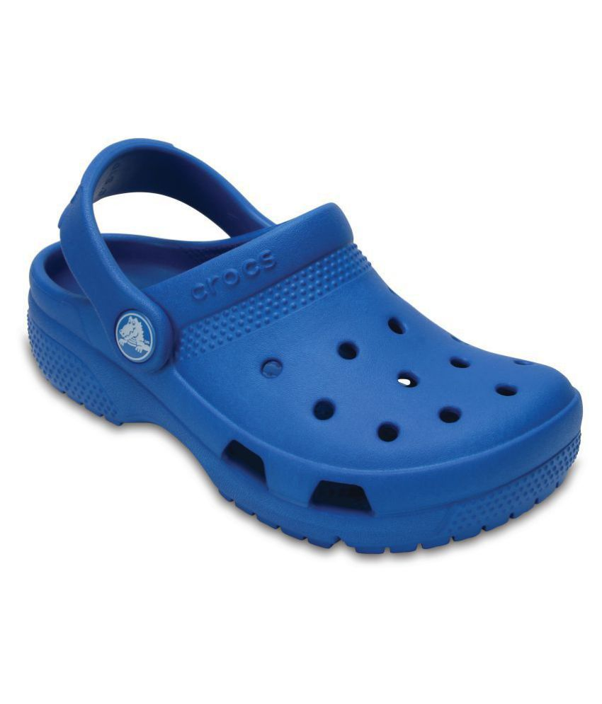 6b0d55486d95 Crocs Kids Coast Blue Clogs Price in India- Buy Crocs Kids Coast Blue Clogs  Online at Snapdeal