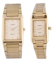 b82187b486 Times Couple Watches: Buy Times Couple Watches Online at Best Prices ...