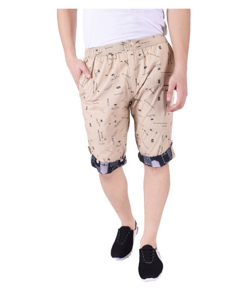 Mountain colours Khaki Shorts