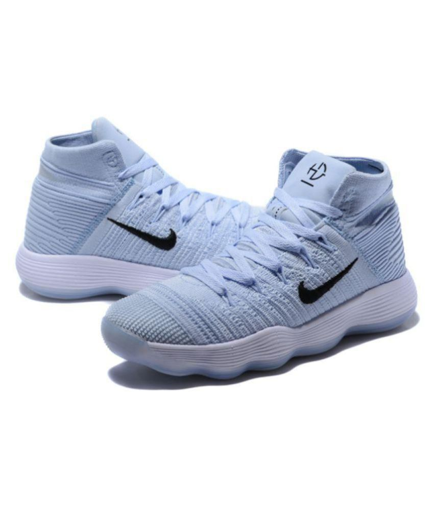 the best attitude 0392b 9246d Nike HYPERDUNK 2018 FLYKNIT White Basketball Shoes