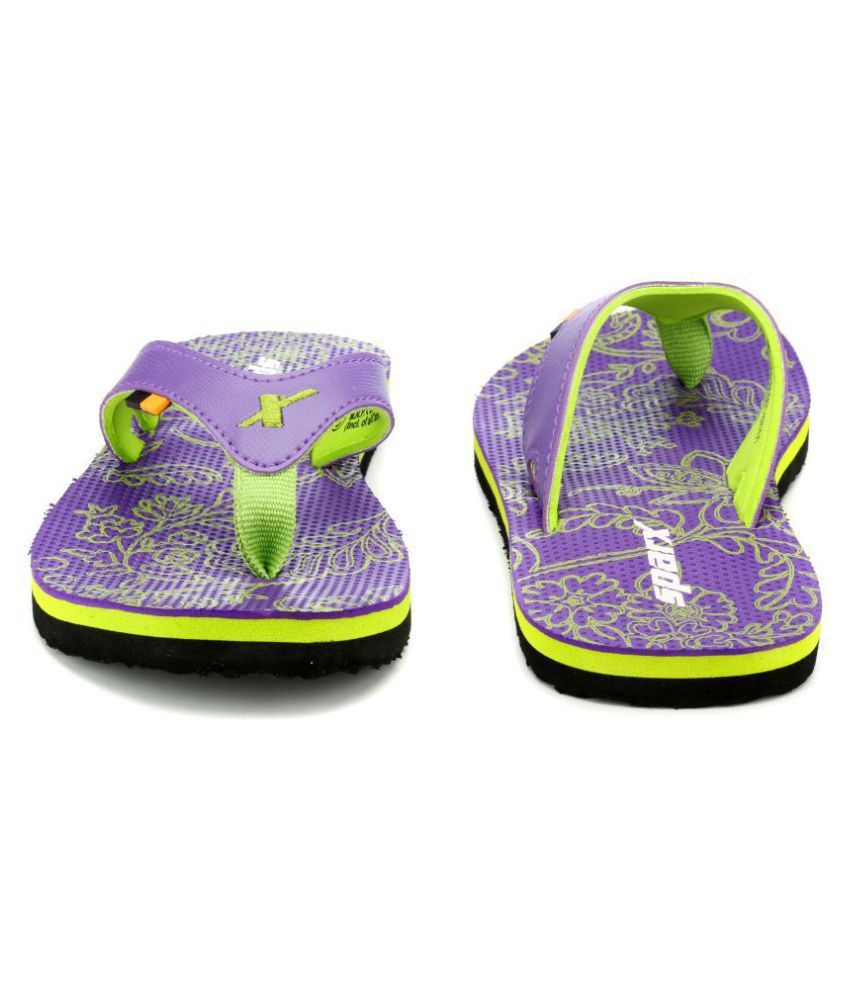 ff740298c352 Sparx Purple Slippers Price in India- Buy Sparx Purple Slippers ...