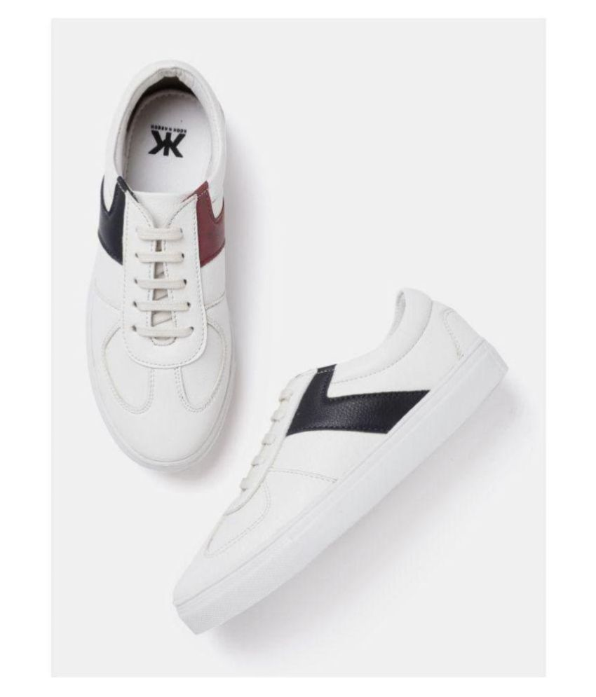 9a1e6bb7d4a kook n keech White Casual Shoes Price in India- Buy kook n keech White Casual  Shoes Online at Snapdeal