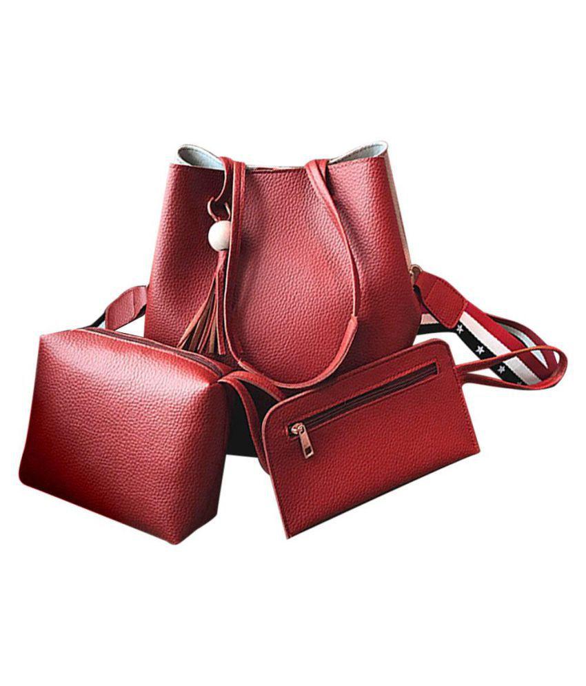 Generic Red Diaper Bags - 1 Pc