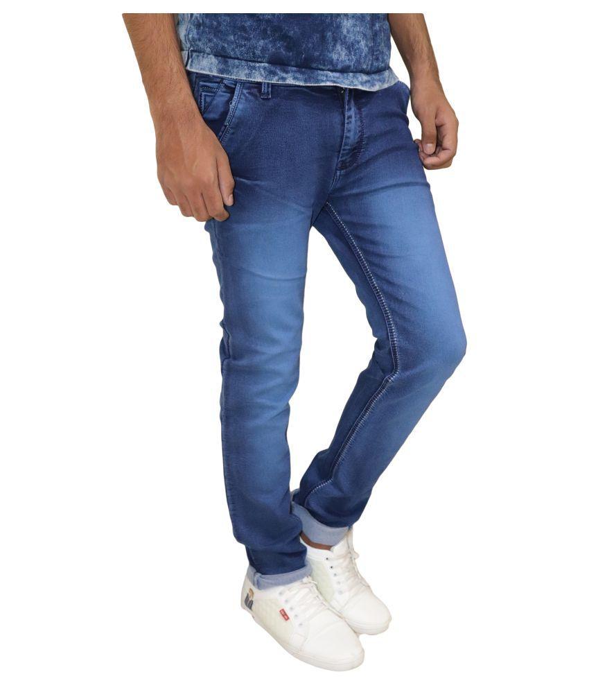 POOL CLUB Dark Blue Regular Fit Jeans