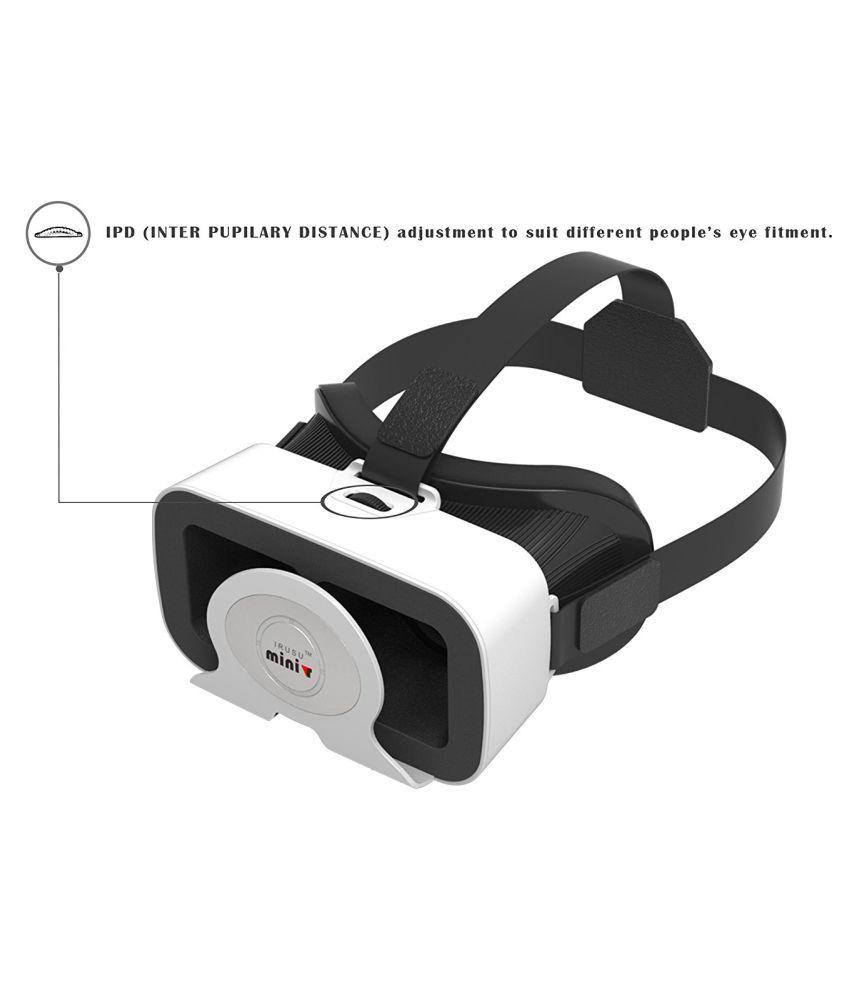 IRUSU Mini VR Box Headset Above 15.5 cm (6) 42MM HD lenses
