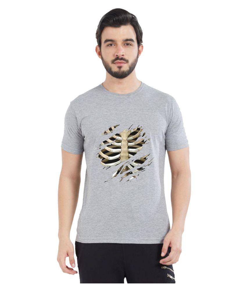 British Terminal Grey Half Sleeve T-Shirt Pack of 1