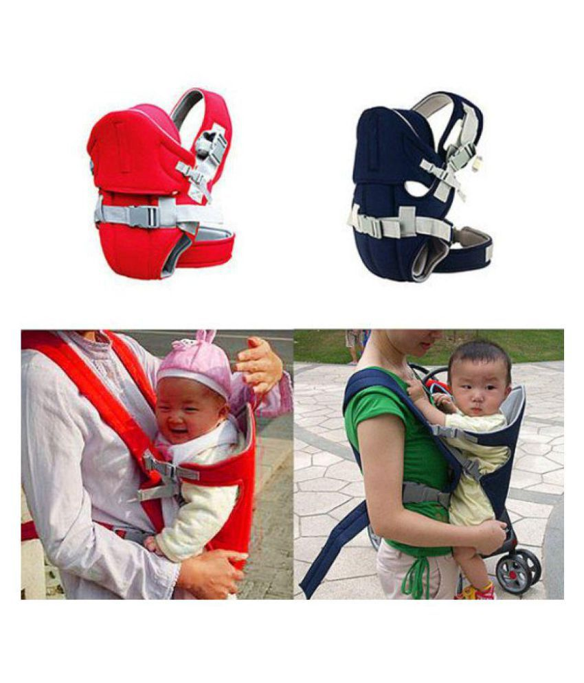 a4428da88cc ... House Of Quirk Premium Quality Ultra Comfortable 2 in 1 Baby Carrier  Baby Sling Front and ...