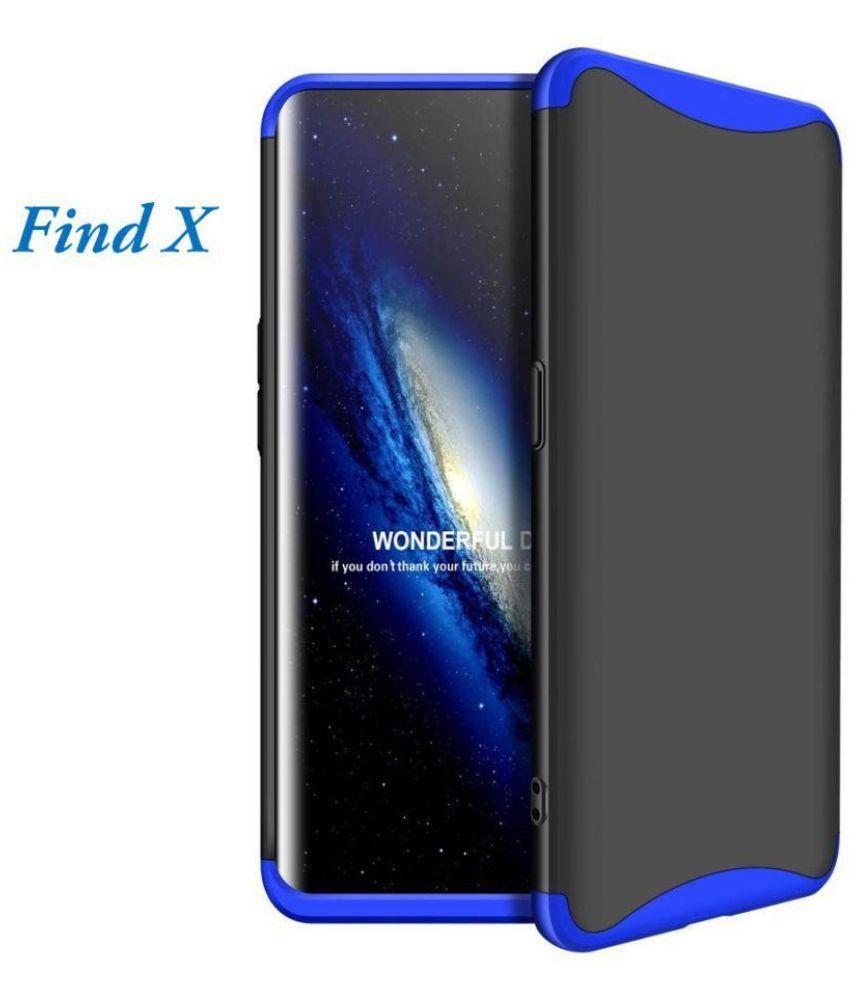 foto ufficiali 53fec d62af Oppo Find X Hybrid Covers JMA - Blue Original Gkk 360° Protection Slim Case