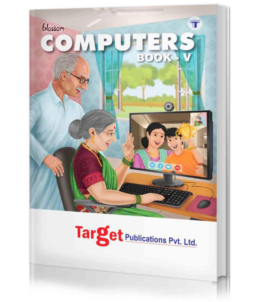 Blossom Basic Knowledge of Computer Learning Book for Kids | Level 5 | Knowledge on MS Office, Windows, Internet and MSW Logo