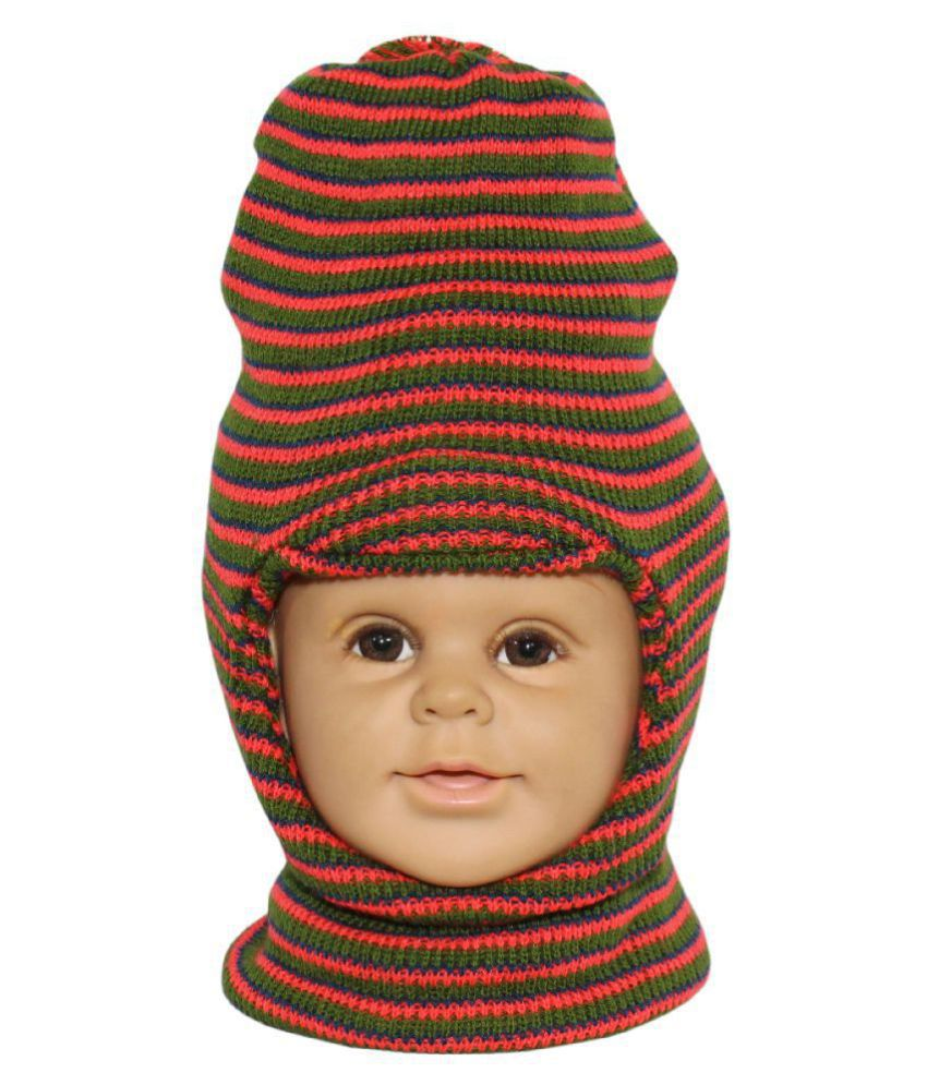 Goodluck Winter Wollen Cap For Kids