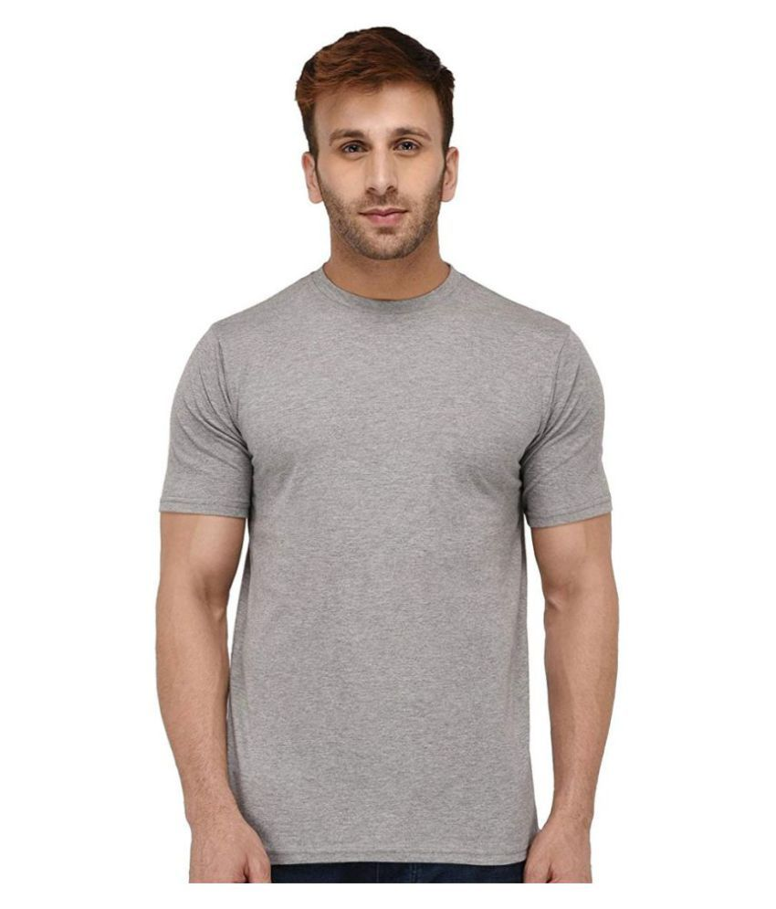 Vogue Tantra Grey Half Sleeve T-Shirt