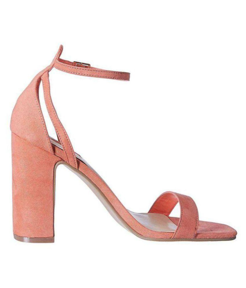 Forever 21 Pink Block Heels