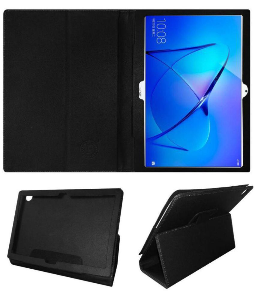 promo code f0ef0 49c54 Huawei Honor Mediapad T3 10 Flip Cover By Cutesy Black