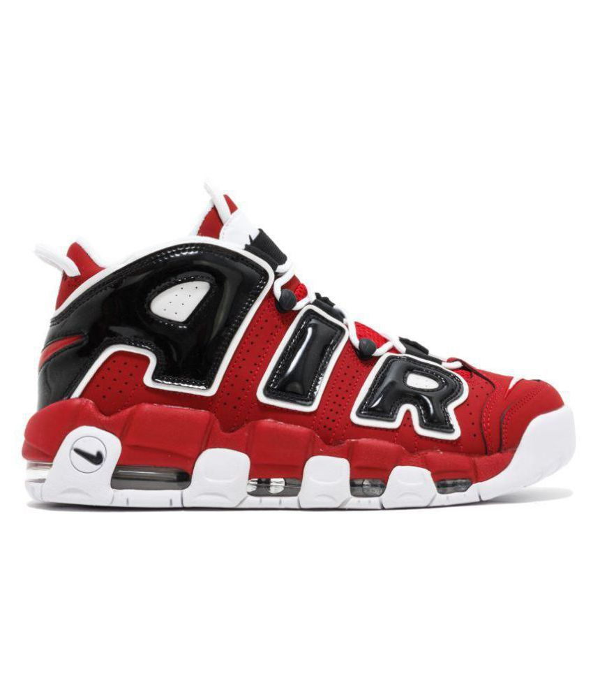 80655b9c704 Nike Air Uptempo Varsity Red Basketball Shoes - Buy Nike Air Uptempo  Varsity Red Basketball Shoes Online at Best Prices in India on Snapdeal