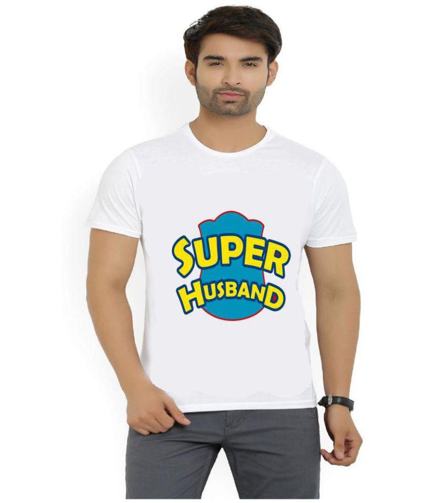 Misty White Half Sleeve T-Shirt Pack of 1