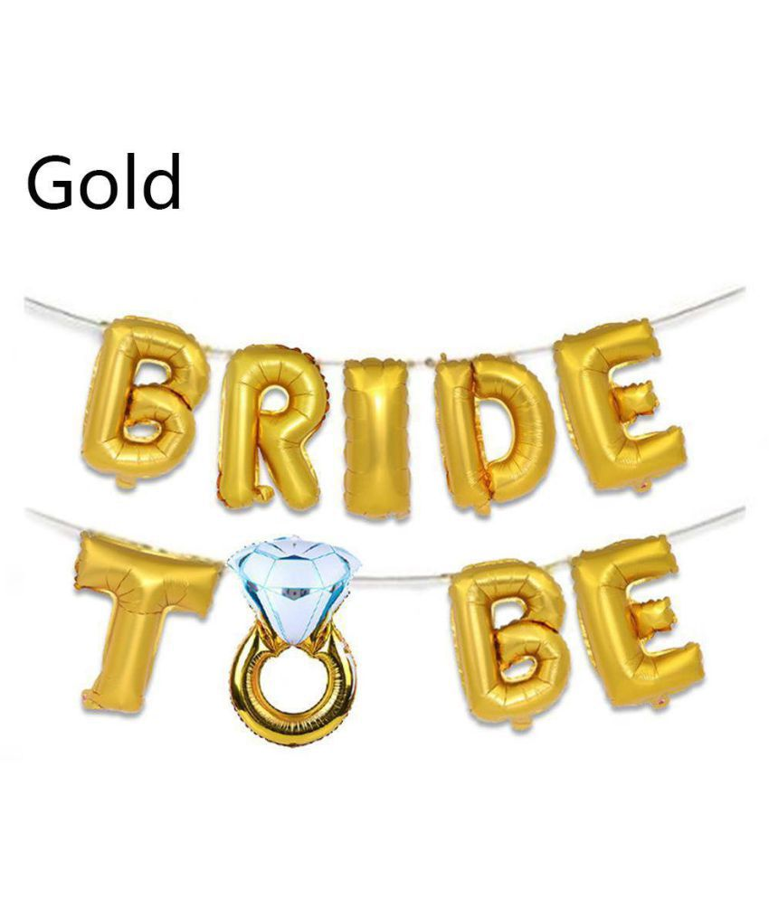 Hen Party Supplies Wedding Decoration Inflatable Toys Foil Balloons Bride To Be