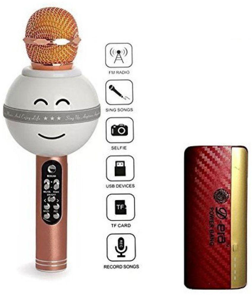 Captcha WS-878 Bluetooth Karaoke Microphone MIC With