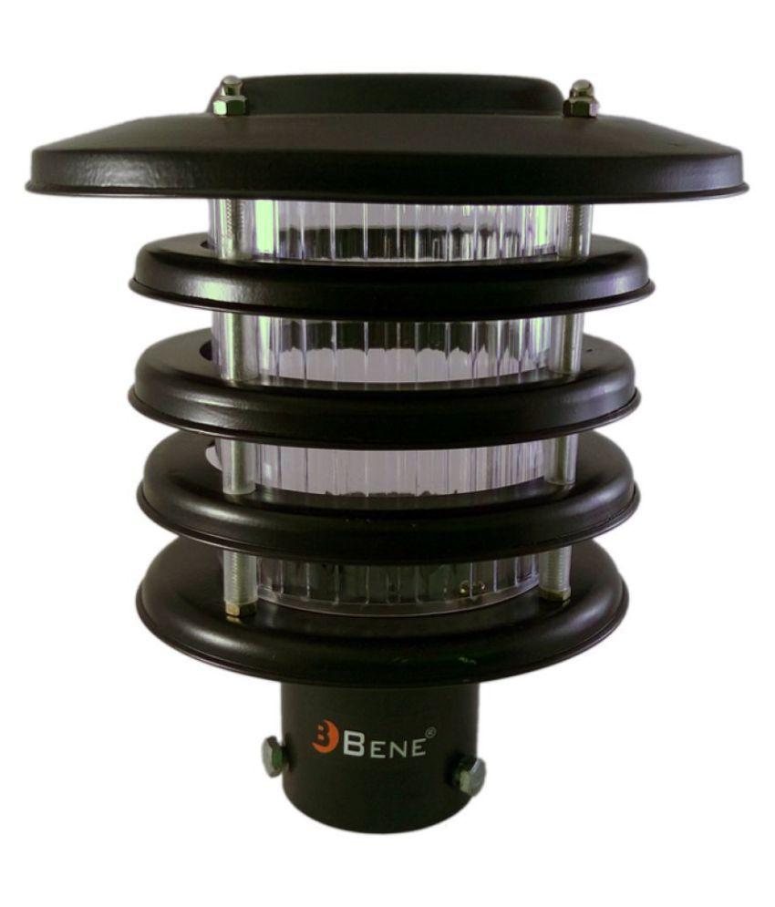 Bene Garden Light Zauber 20 Cms, ( Black, Pack Of 1 Pc) Gate Light Cool Day Light - Pack of 1