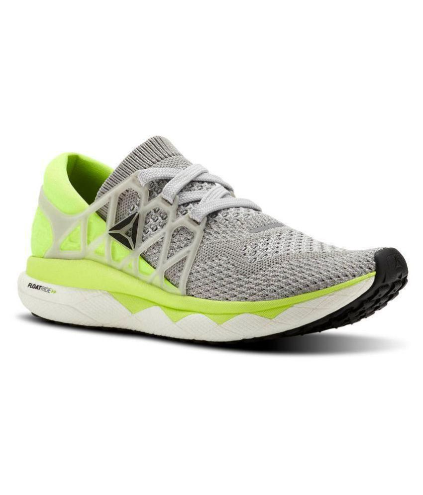 new arrival 293ba ac945 REEB0K Reebok Floatride Running Shoes Gray