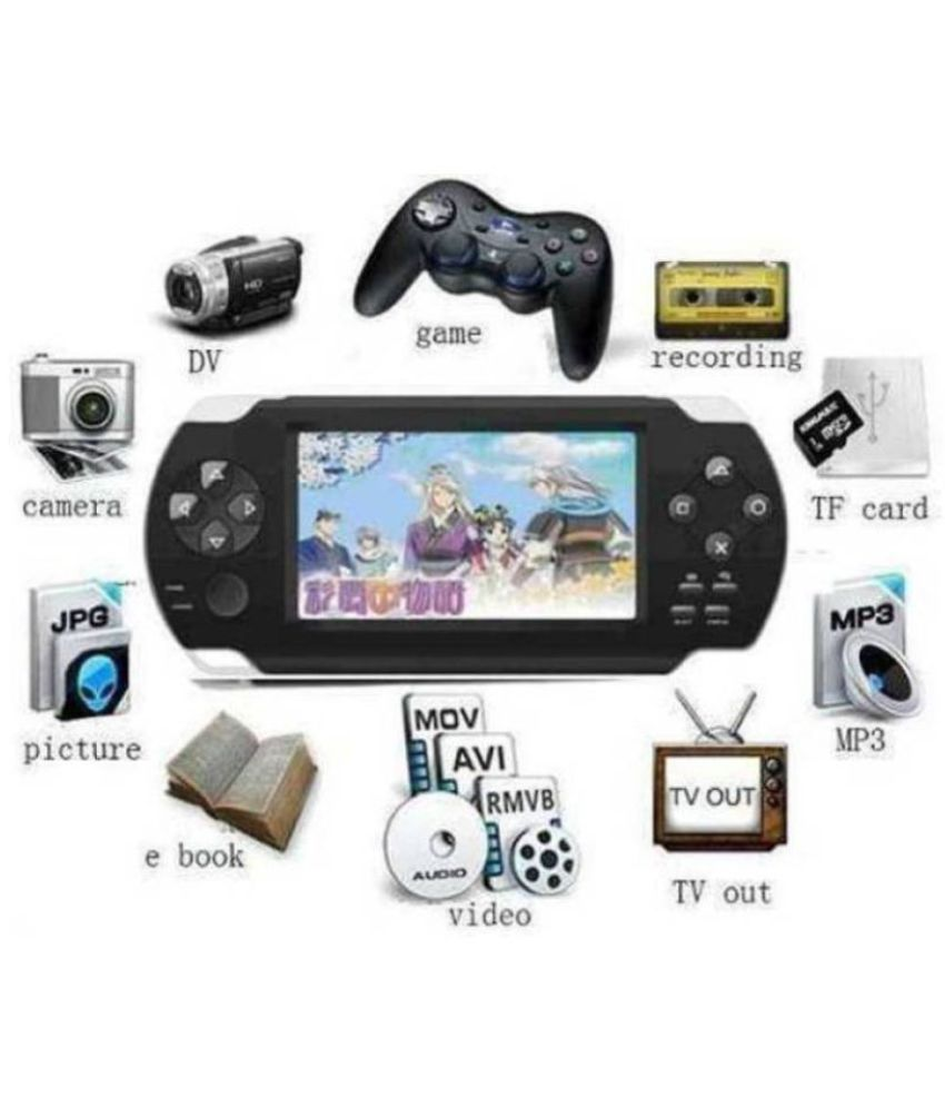 INEXT-1001 PSP Grand Classic GCL PSP 4 GB BLACK  ( PSP )