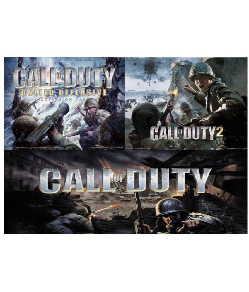 JBD CALL OF DUTY 1,2,UNITED OFFENSIVE COMBO {Offline} PC Game ( PC Game )