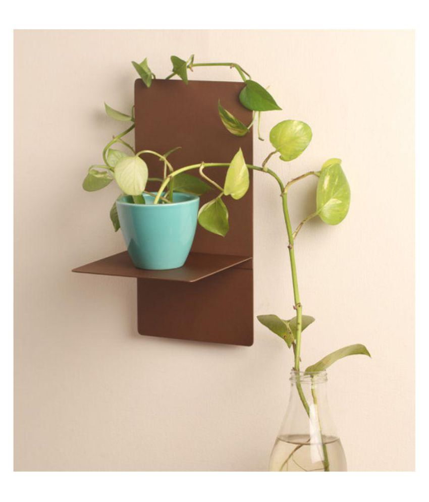 Designmint Bronze T Shelf ( 6x6x12 )