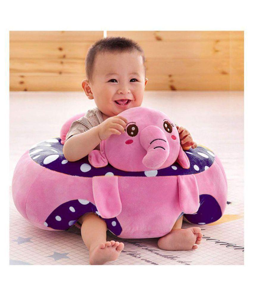 Samaaya Baby Soft Plush Cushion Cotton Baby Sofa Seat