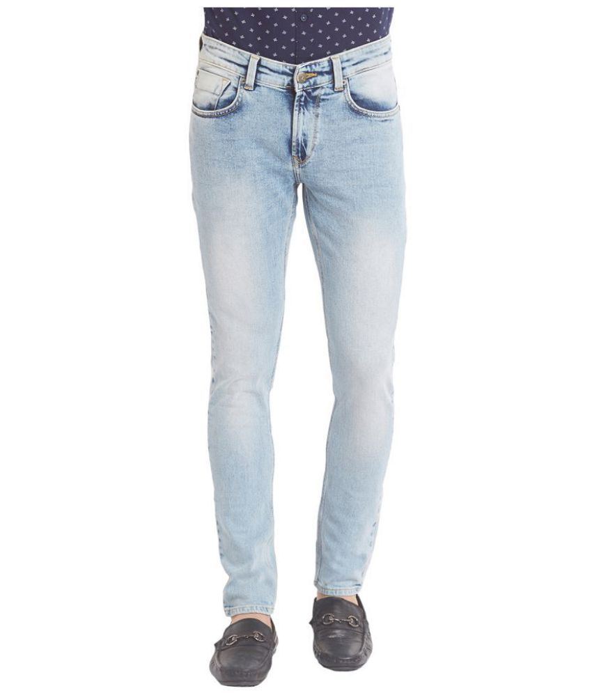 Spykar Light Blue Super Skinny Jeans