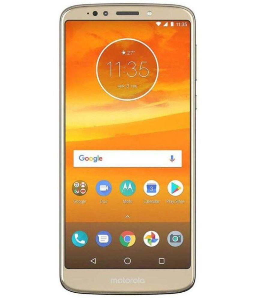 Motorola Gold Moto E5 Plus 32GB