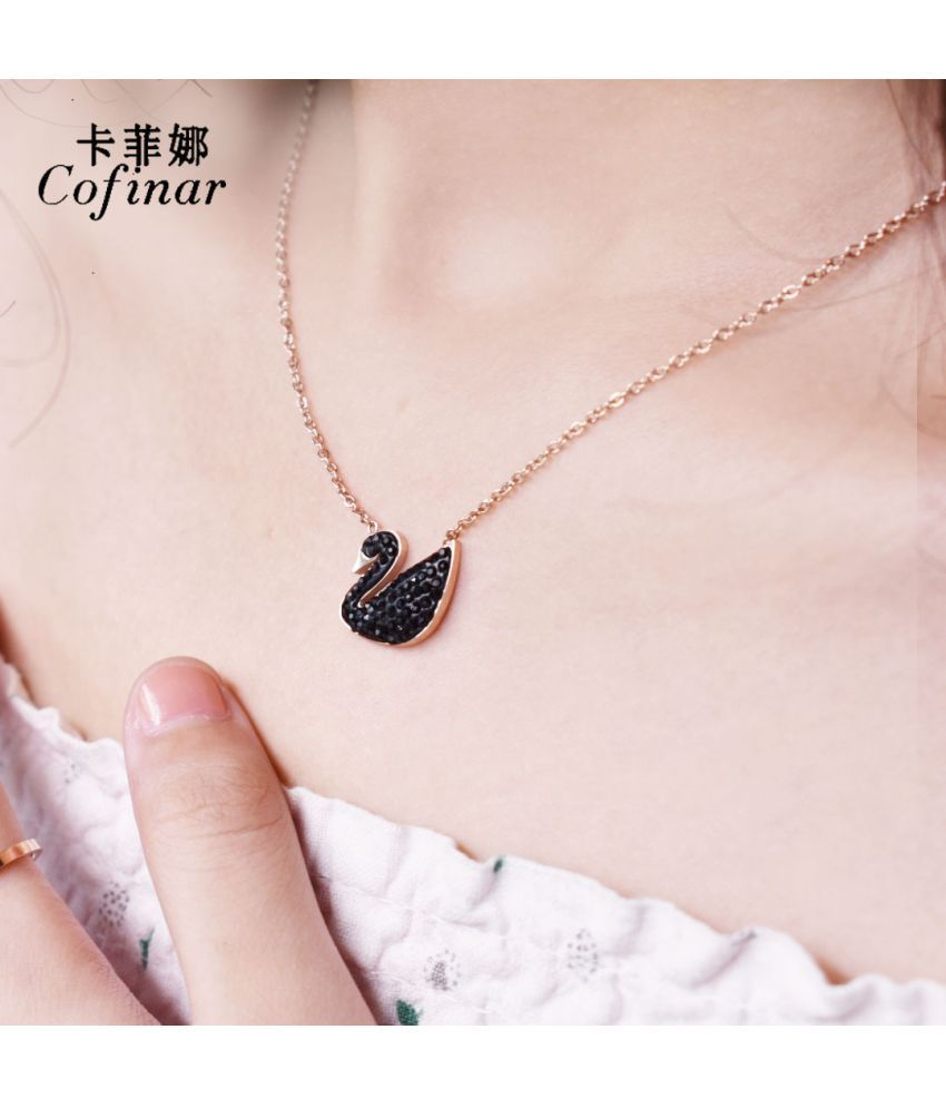 Fashion Sw Necklaces Custom Sw New Contracted Clavicle Necklace