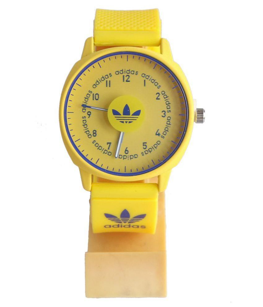 ladrar Zapatos antideslizantes Intención  adidas watches Adidas Yellow New Arrival Rubber Analog Men's Watch - Buy adidas  watches Adidas Yellow New Arrival Rubber Analog Men's Watch Online at Best  Prices in India on Snapdeal