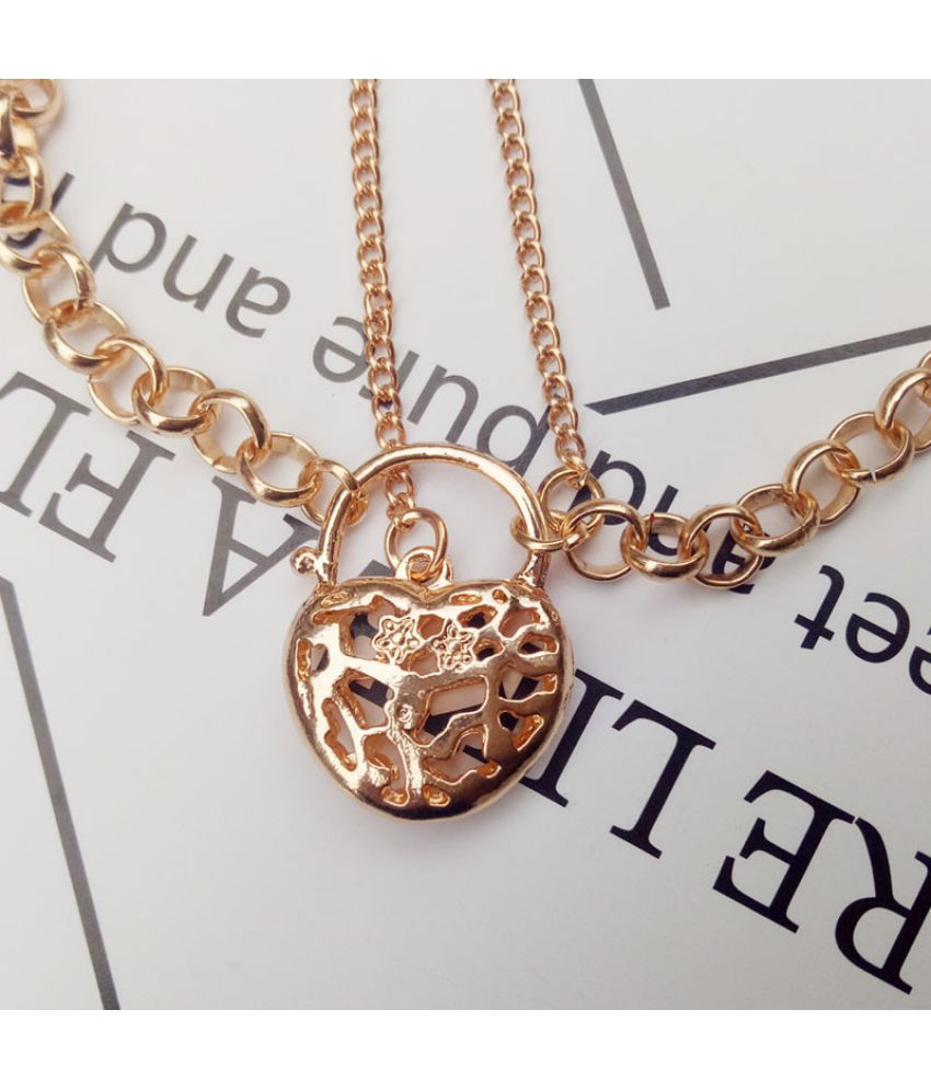 Fashion Holiday Hollow Heart-Shaped Anklets Hearts Foot Ornament Sales Is With Preferential Treatment
