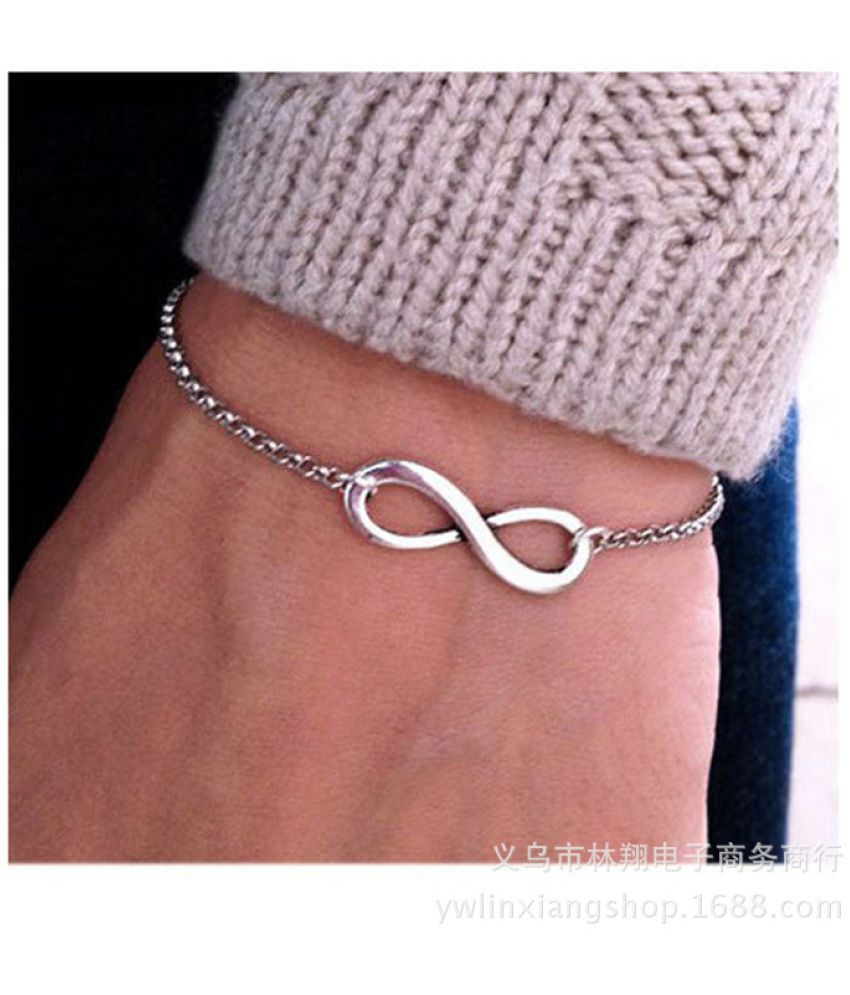Jewelry Simple Fashion Summer Joker Lucky 8 - Word Simple Chain Jewelry