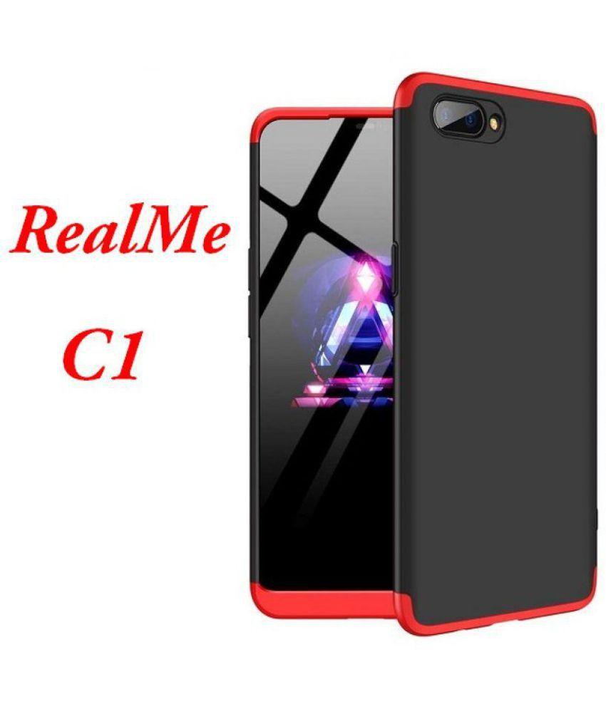 super popular 8e2d5 be025 Realme C1 Shock Proof Case JMA - Red Original Gkk 360° Protection Slim Case