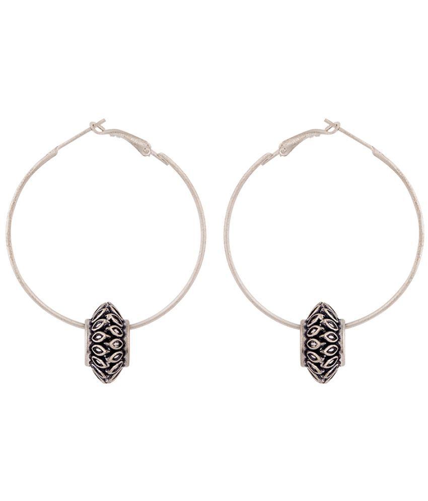 Voylla Work Essentials Wire Hoop Earrings For Women