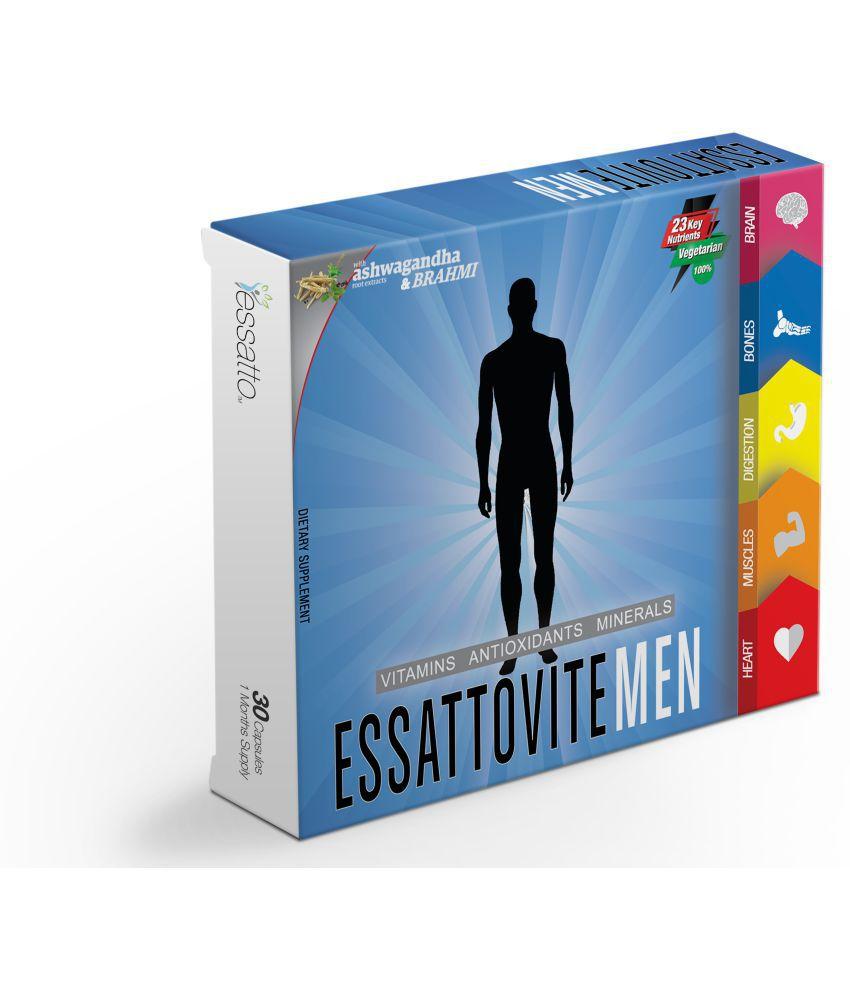 Essatto Essattovite Men 650 mg Multivitamins Capsule
