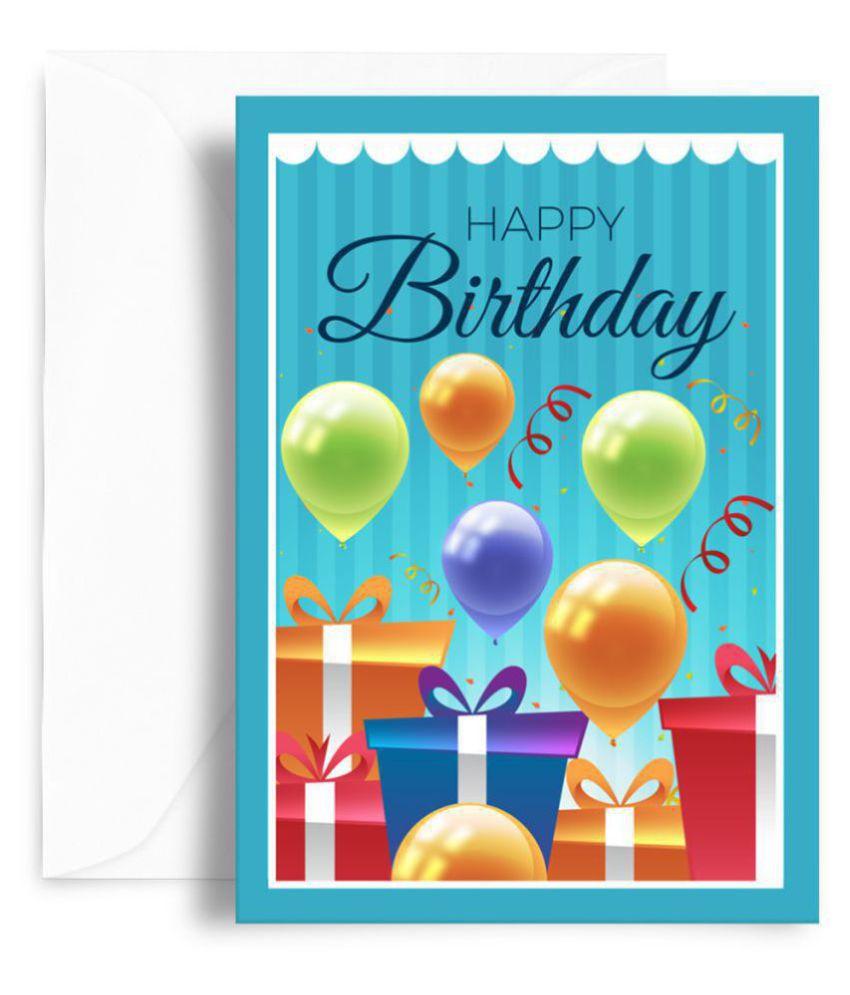 Kaarti Happy Birthday Greeting Card
