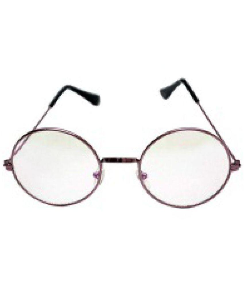 LUB Black Round Sunglasses ( CLEAR ROUND SUNGLASS )