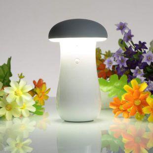 Callmate Mushroom 8000  mAh Li Ion Lamp Power Bank White
