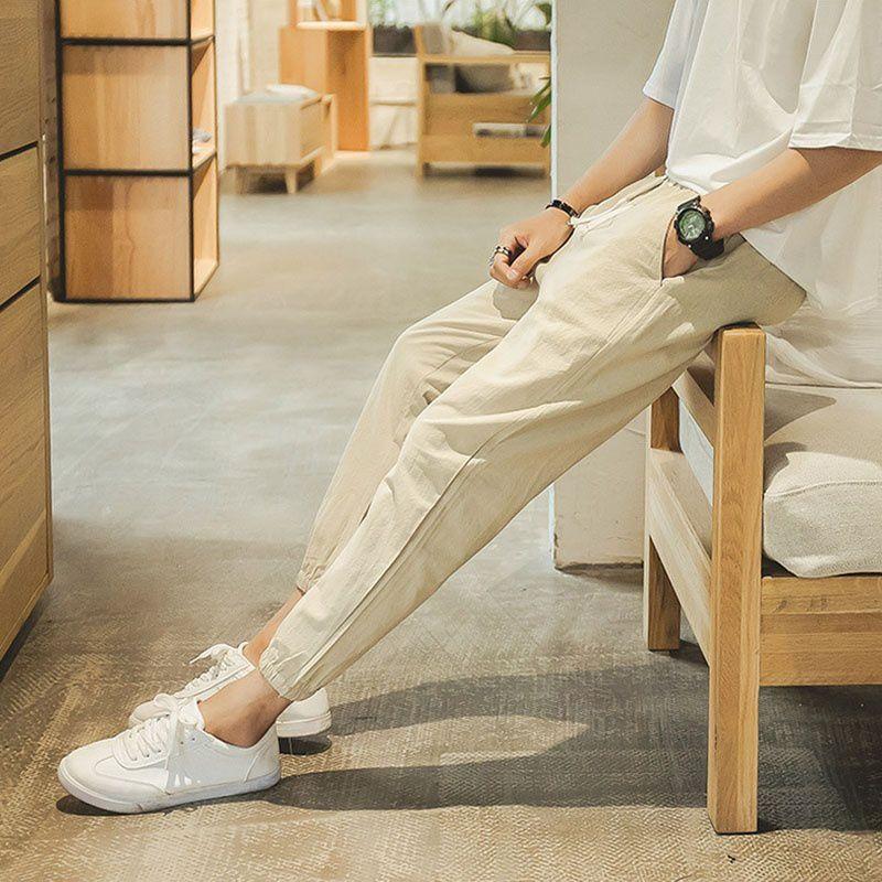 Haorun Khaki Regular -Fit Flat Trousers