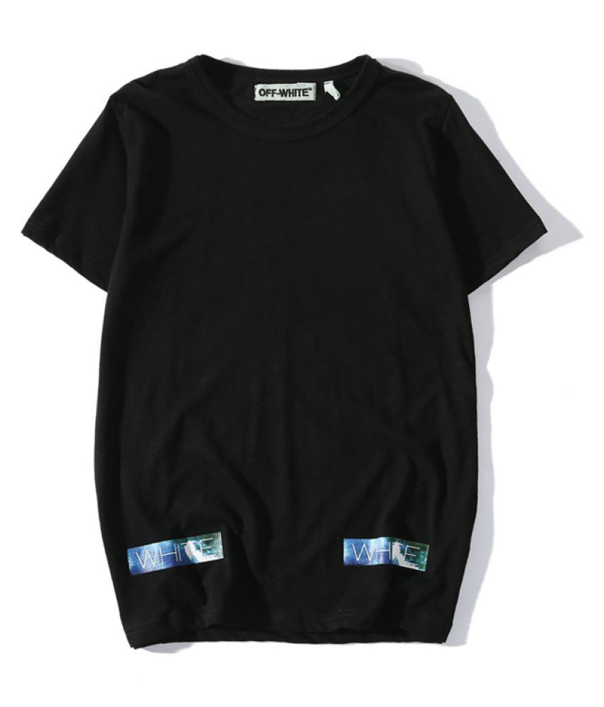 Menpro Black Half Sleeve T-Shirt Pack of 1