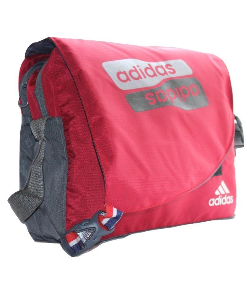 ... Adidas Latest Trendy Stylish Bag for School College Other Red Nylon  Casual ... 8febf4155e4c1