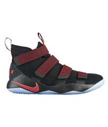 4c915e87a1a67 Quick View. Nike Nike Lebron Soldier 11 Black maroon Low ankle Male Black