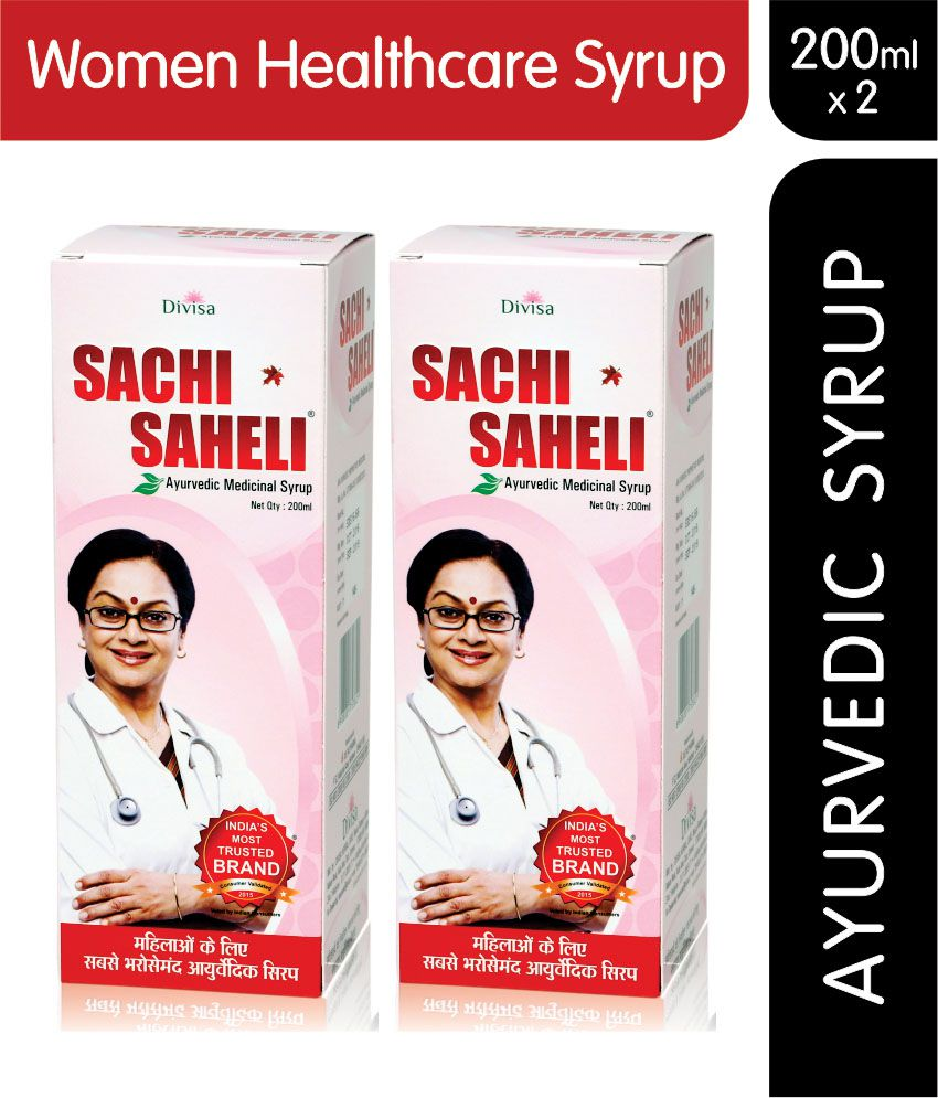 Sachi Saheli Syrup Women Healthcare Syrup 200 ml Pack of 2