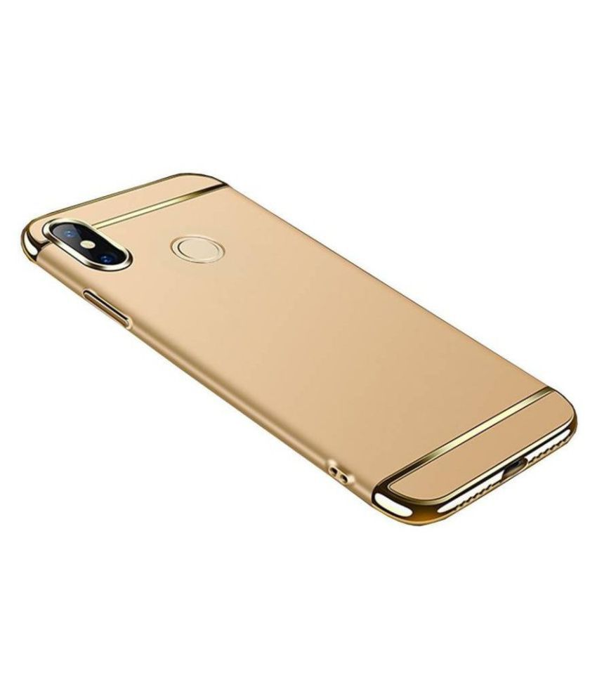 Apple iphone 7 Plain Cases Kosher Traders - Golden 3 In 1 chromium
